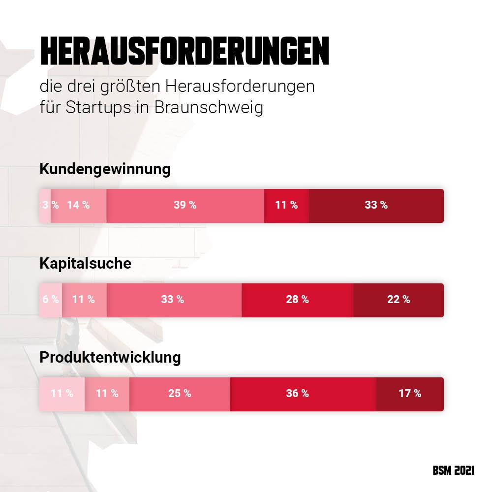 Startup Monitor Braunschweig - Herausforderungen